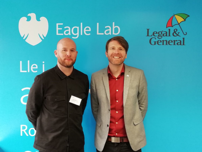 Two marketers at Legal and general