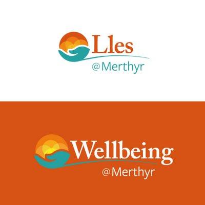 Wellbeing Merthyr logo